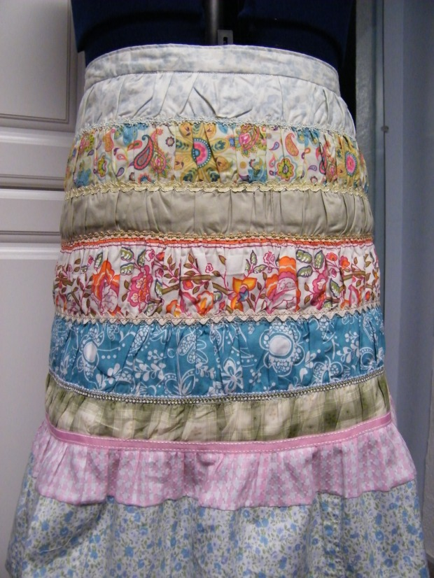 Terri's Scrappy skirt