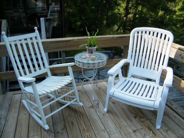 outdoor wooden rocking chair plans
