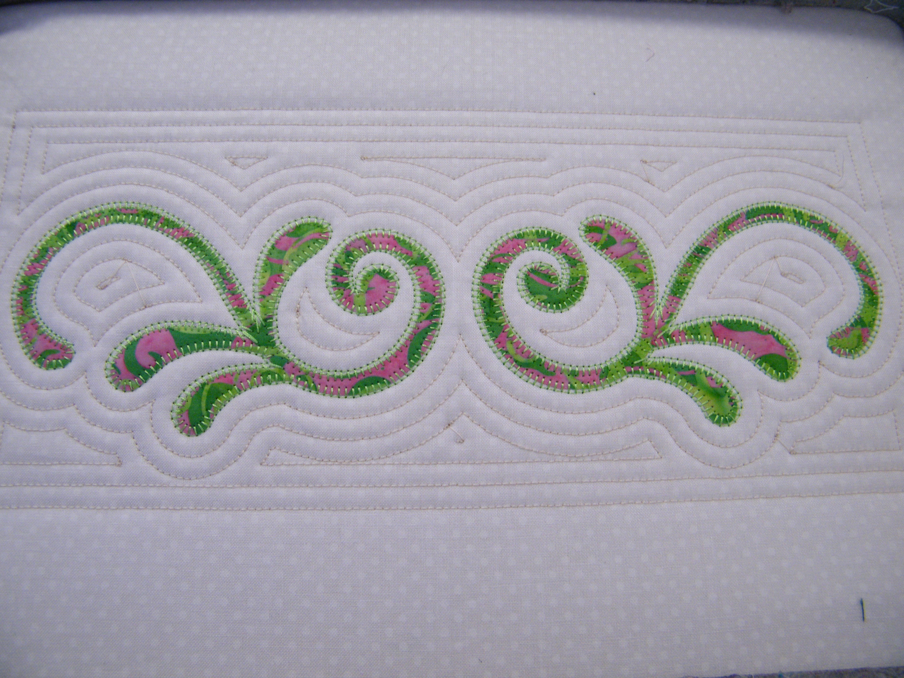 Machine Embroidery Design Placement Stitch