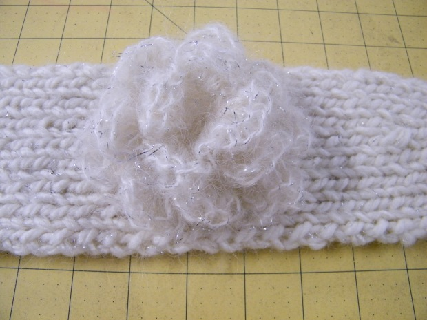 Knit Pattern Headband With Button Closure : Knitted Headbands The Thrifty Needle